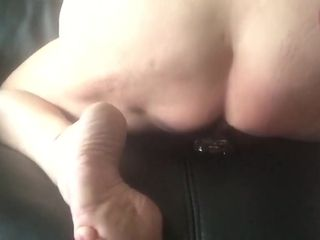 Both holes fucked waiting for i cum enduring