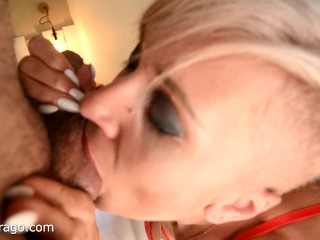 Tanya Virago has ass fucking fuck-fest after lengthy oral pleasure in her motel suite