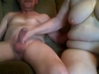 Spent homemade Grannies porn videotape