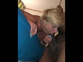 Milf's Tinder lovemaking makes her remorse big black cock and takes manhandle