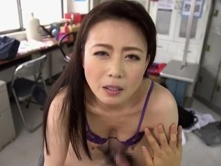 Unbelievable asian bitch in insatiable Mature, point of view JAV sequence