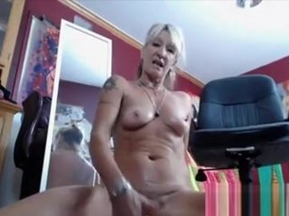 Blondie mature first-timer extraordinary fat fucktoys injections