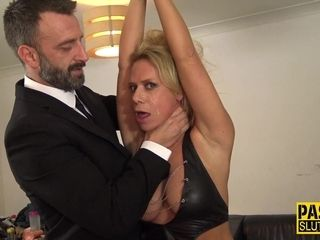 Raunchy domination & submission tormentor Pascal buggers fresh cougar