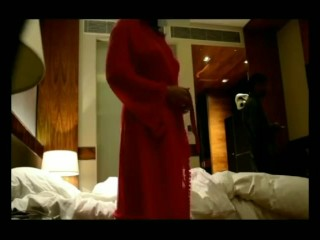 Desi indian wifey bare lure with motel service man