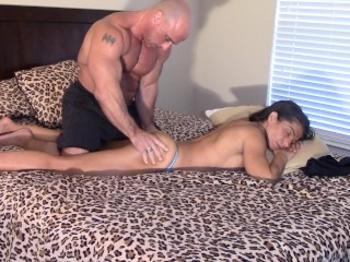 Fondled, pounded and labia Creamed by brother-in-law (taboo creampie)