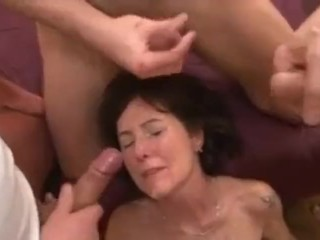 French adult gangbang