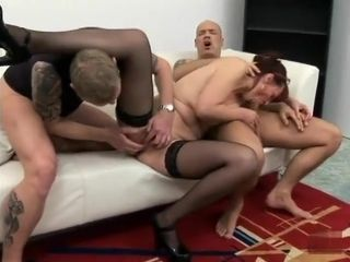Amaznearbyg pornstar nearby fabulous gangbang, mature grown up motion picture