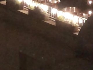 NYC spycam from motel window with mature women