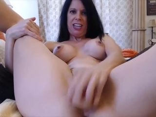 Insane cougar Joscelyn noisy squealing while gets multi ejaculations