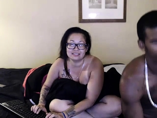 Aged mature bi-racial oral job