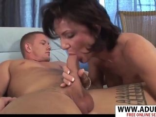Realy adorable cougar Deauxma gargles ginormous weenie