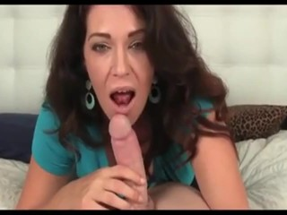 Homemade pov blowjob newcomer disabuse of hot milf