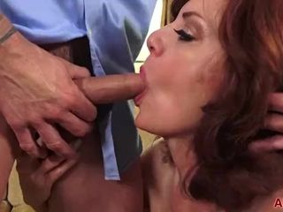 Chunky bosom Redhead MILF Andi James Gets Fucked surpassing AllOver30