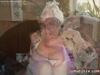 OmaFotzE unskilled chunky Titted Granny Compilation