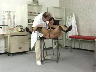 Mature wifey check-up